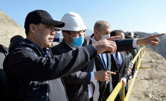"""Kırgız Başbakan'dan """" Eti Bakır"""" tesisine ziyaret"""