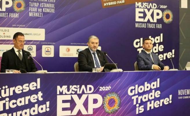 """""""MÜSİAD EXPO 2020 Ticaret Fuarı"""" 18 Kasım'da başlayacak"""