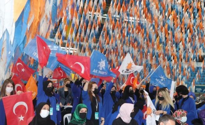 AK Parti Genel Merkez Kadın Kolları Başkanı Çam, Balıkesir kongresinde konuştu