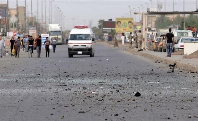 Bağdat'ın merkezinde büyük patlama!