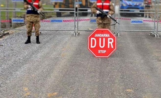 Balıkesir'de bir mahalle Kovid-19 karantinasına alındı