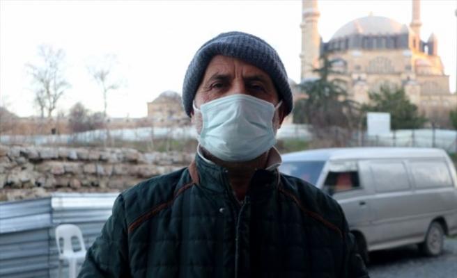 """Balkanlar'dan gelen soğuk hava ile Edirne """"meşhur ayazına"""" kavuştu"""