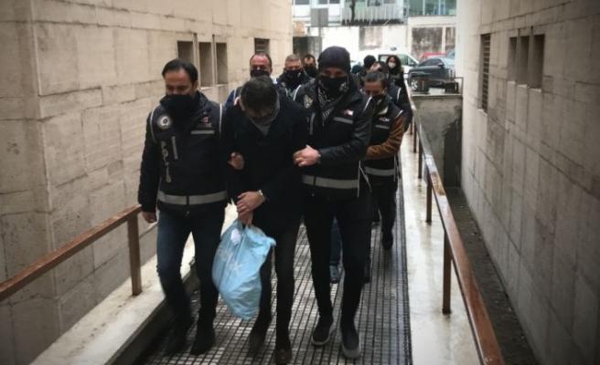 Bursa'da şantaj  ve tehdit iddiasıyla 6 şüpheli yakalandı