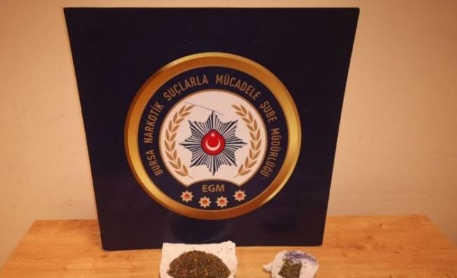 Bursa'da uyuşturucu operasyonunda 14 şüpheli yakalandı