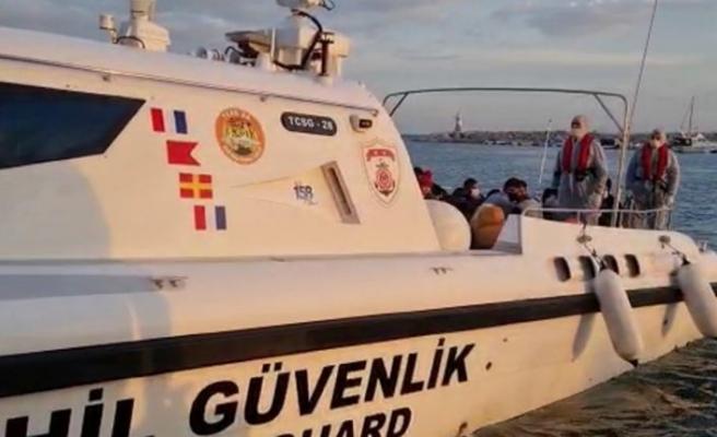 Çanakkale'de 37 düzensiz göçmen yakalandı