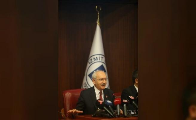 CHP Genel Başkanı Kılıçdaroğlu, İzmit Belediyesi'nde konuştu
