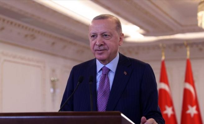 Cumhurbaşkanı Erdoğan: 2023'e kadar 150 yer altı barajını tamamlamayı hedefliyoruz