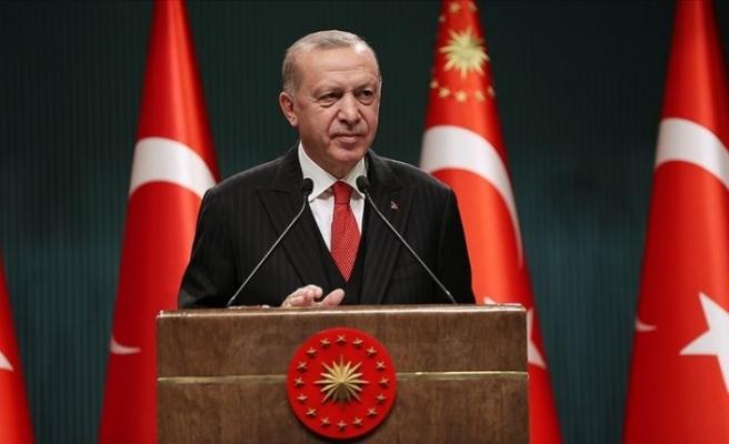 Cumhurbaşkanı Erdoğan, kuraklık tehdidine dikkati çekti