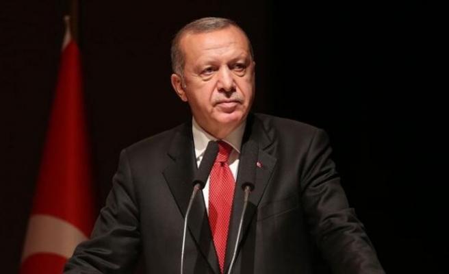 Cumhurbaşkanı Erdoğan: TÜRKSAT 5A uydumuzla uzay haklarımızı 30 yıl boyunca garanti altına alıyoruz