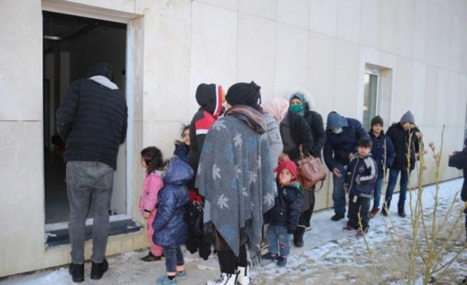 Kırklareli'nde 29 yabancı uyruklu şahıs yakalandı