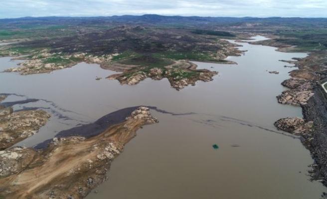 Kırklareli'nde yağışlar barajların su seviyesini arttırdı