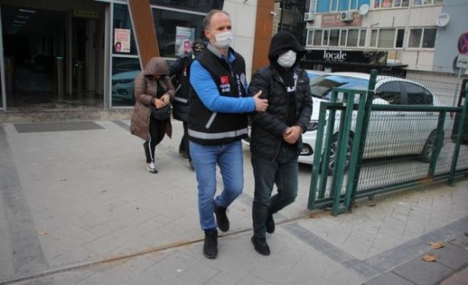 Çalıştığı firmadan 2 milyon lira çaldığı iddia edilen şüpheli yakalandı