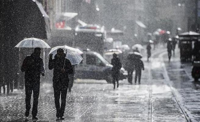 Meteorolojiden Kıyı Ege için kuvvetli yağış uyarısı