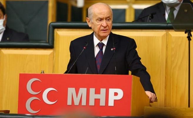 MHP lideri Bahçeli'den Boğaziçi açıklaması