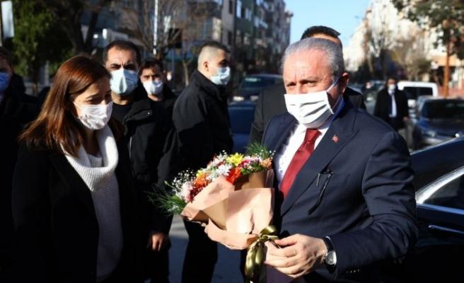 """TBMM Başkanı Mustafa Şentop'tan """"aşı"""" açıklaması"""