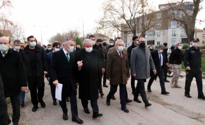 TBMM Başkanı Şentop Kırklareli'nde konuştu