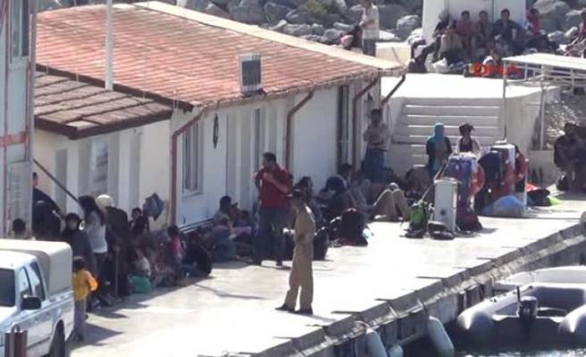 Tekirdağ'da 9 sığınmacı yakalandı