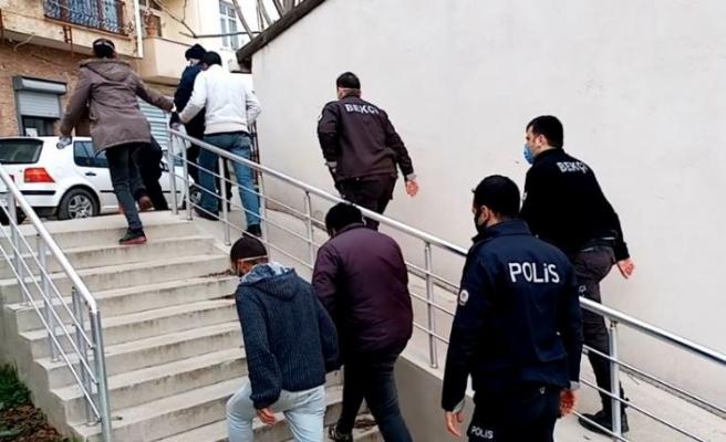 Tekirdağ'da yakalanan 4 hırsızlık şüphelisi tutuklandı