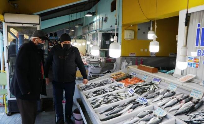 Tekirdağ'da yeni yılda tezgahların gözdesi çinekop ve istavrit oldu