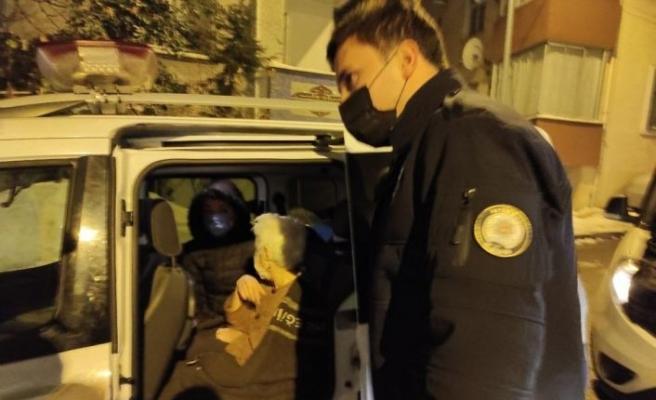 Üsküdar'da halasını bıçakla rehin alan şüpheli gözaltına alındı