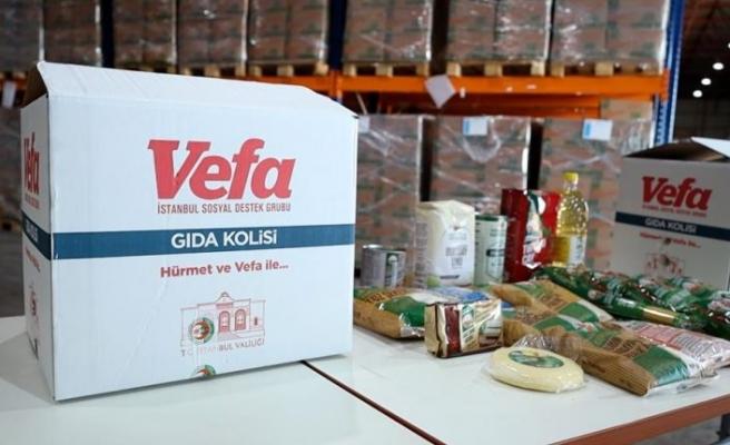 Vali Yerlikaya gıda kolisi dağıtımı kapsamında aileleri ziyaret etti