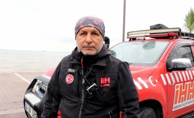 Yalova'da denizde kaybolan gencin arama çalışmalarından sonuç alınamadı