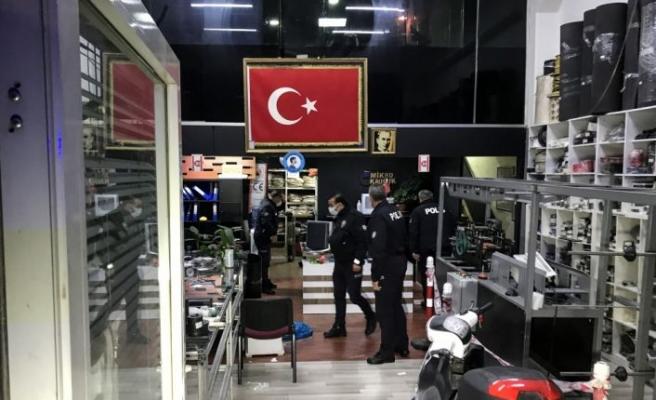 Bursa'da bir iş yerindeki silahlı kavgada 2 kişi yaralandı