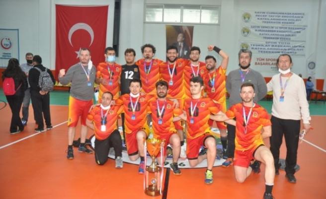 Çorlu İşitme Engelliler Trakya Erkek Hentbol Takımı, 1. Lig'de şampiyonluğa ulaştı