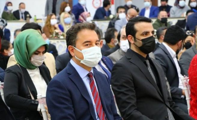 DEVA Partisi Genel Başkanı Babacan, Tekirdağ'da partisinin ilçe kongresinde konuştu:
