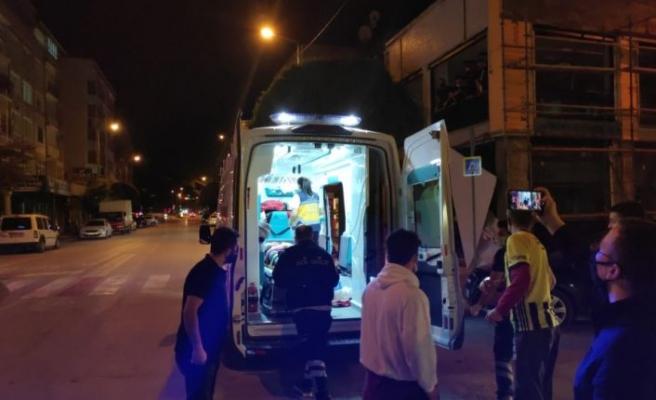 Bursa'da taksi ile çarpışan motosikletin sürücüsü yaralandı