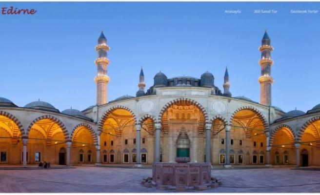 """Eski payitaht Edirne ziyaretçilerini """"sanal gezinti""""yle ağırlıyor"""