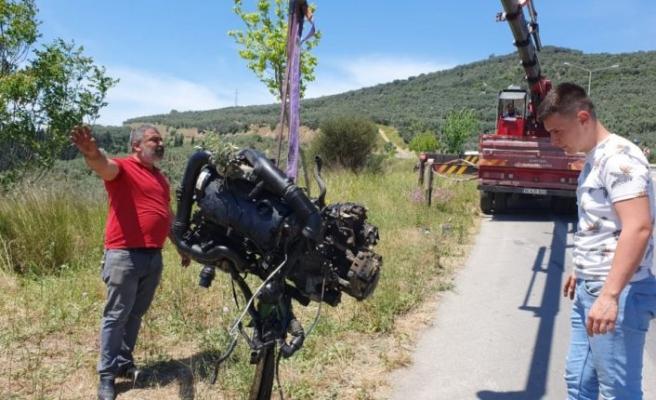 Gemlik'te trafik kazasında bir kişi ağır yaralandı