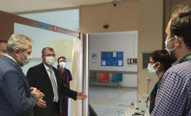 Sağlık Bakan Yardımcı Halil Eldemir, Bursa'da incelemelerde bulundu