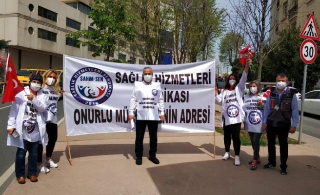 SAĞLIK HİZMETLERİ SENDİKASI:  BU 1 MAYIS'TA PANDEMİDE KAYBETTİĞİMİZ ARKADAŞLARIMIZI ANIYORUZ
