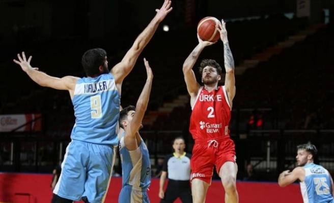 A Milli Erkek Basketbol Takımı, Uruguay'ı mağlup etti