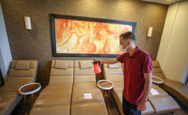 Bursa'daki hamam işletmecileri  1 Temmuz'daki normalleşme sürecinin hazırlıklarını tamamladı