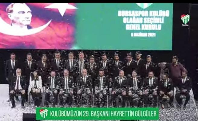 BURSASPOR'UN YENİ BAŞKANI EMİN ADANUR OLDU