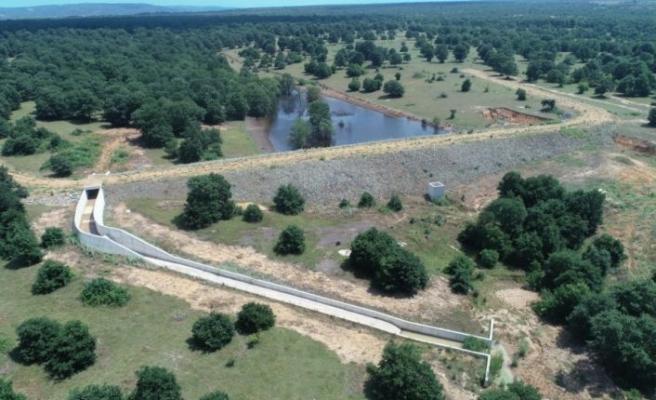 DSİ Genel Müdürü Yıldız, Edirne Meriç Umurca Göleti'yle 2 bin 690 dekar arazinin sulamaya açılacağını belirtti