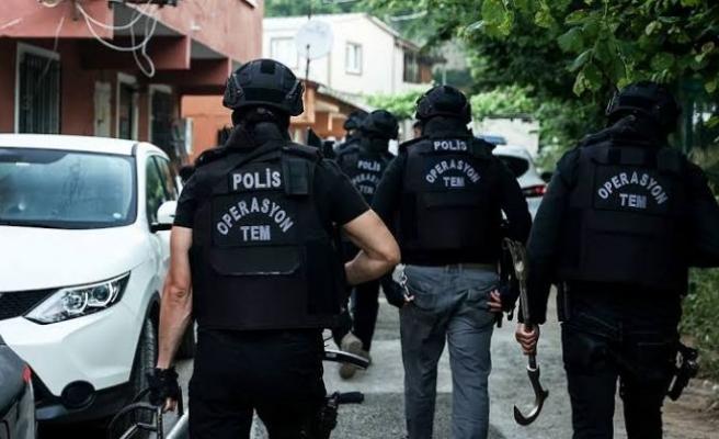 İstanbul'da terör örgütü PKK'ya yönelik operasyonda 5 şüpheli yakalandı