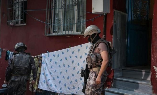 İstanbul'da 6 ilçede hava destekli uyuşturucu operasyonu