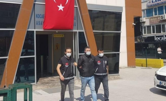 Kocaeli'de cinayet işlediği iddiasıyla aranan şüpheli, yurt dışına çıkmak isterken yakalandı