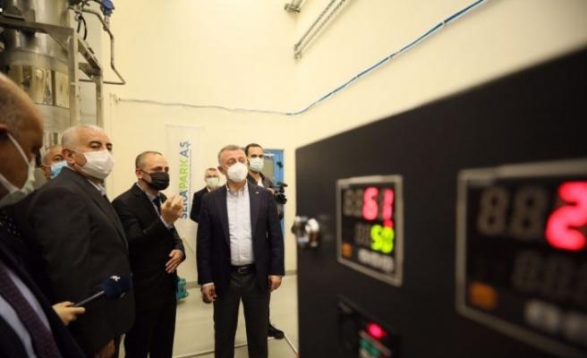 """Kocaeli'de tıbbi ve aromatik bitkilerin yağı """"süperkritik akışkan teknoloji"""" ile işlenecek"""