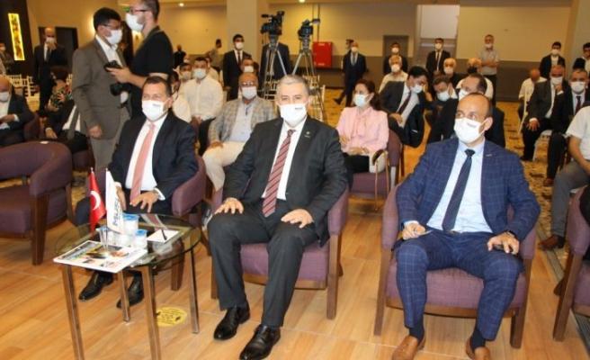 MÜSİAD Genel Başkanı Kaan, derneğin Bandırma Şubesinin olağan genel kurul toplantısında konuştu: