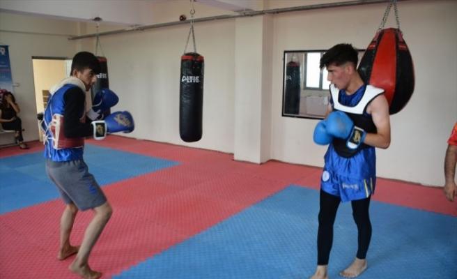 Şırnaklı sporcular, Türkiye Wushu Şampiyonası'na hazırlanıyor