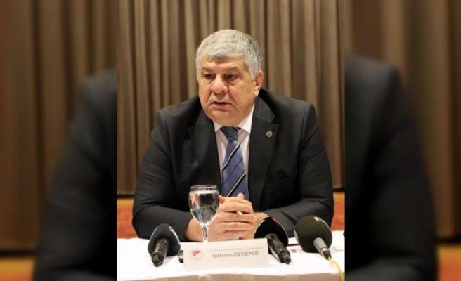 TBPF Başkanı Özdemir, Kocaeli'de basın mensuplarıyla bir araya geldi: