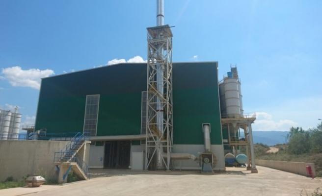 Bursa Büyükşehir Belediyesi çamur yakma tesisinde elektrik enerjisi üretiyor