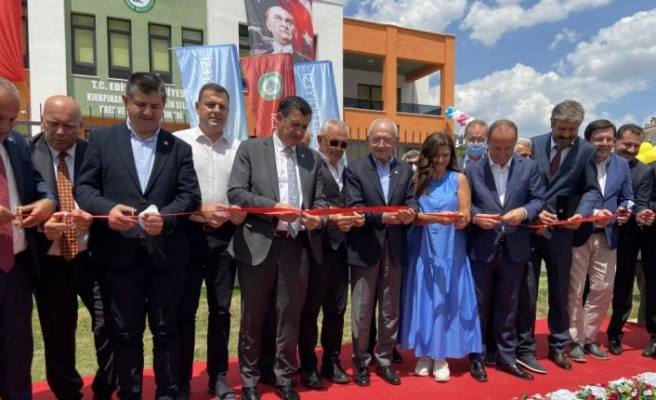 CHP Genel Başkanı Kılıçdaroğlu, Edirne'de park açılışında konuştu: