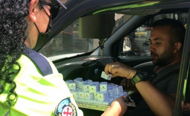 Edirne'de sürücüler hız limitlerine uymaları ve emniyet kemeri takmaları konusunda uyarıldı
