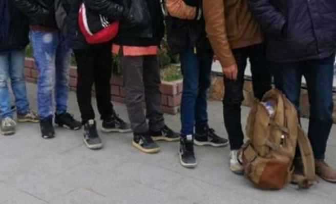 Kırklareli'nde yurda yasa dışı yollarla giren 5 Afganistanlı yakalandı