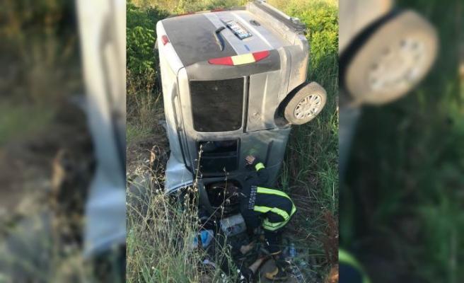 Kırklareli'nde trafik kazası: 2 ölü